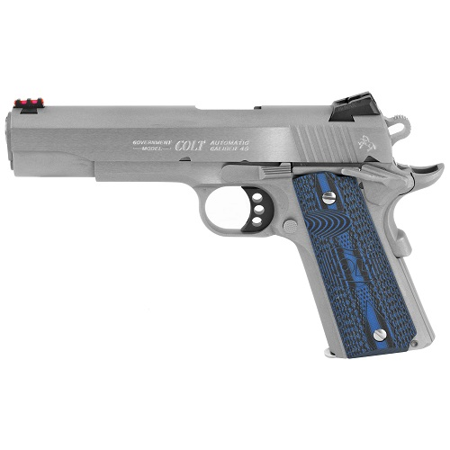 "Colt Competition SS Pistol 45 ACP 5"" Barrel Steel Frame"